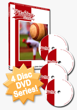 The Pitching Academy 4 Disc DVD Series
