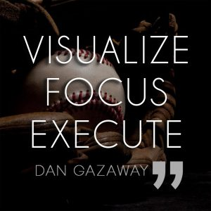 Baseball Quote, Baseball Motivation, Visualize Focus Execute