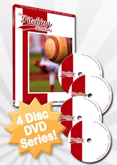 4 disc Pitching Mechanics DVD Package
