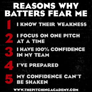 Baseball Motivation, Baseball Quote, 5 Reasons Batters Fear Me