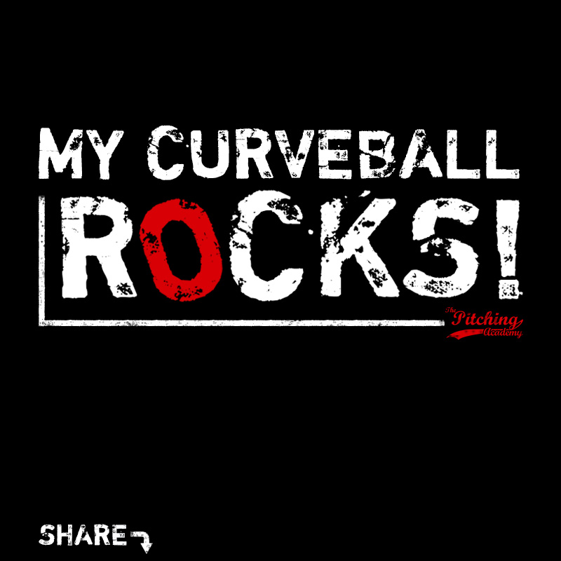 My curveball rocks